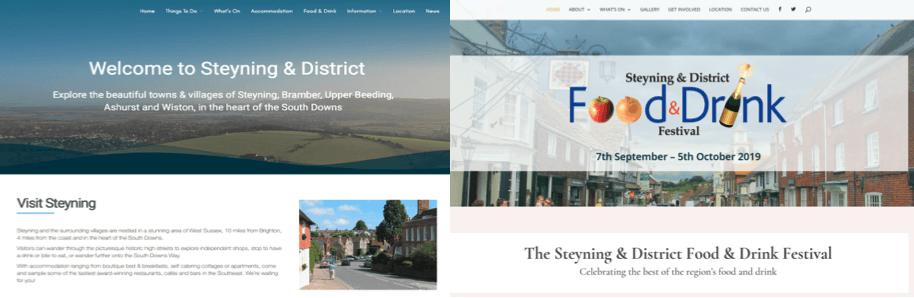 New Steyning Websites